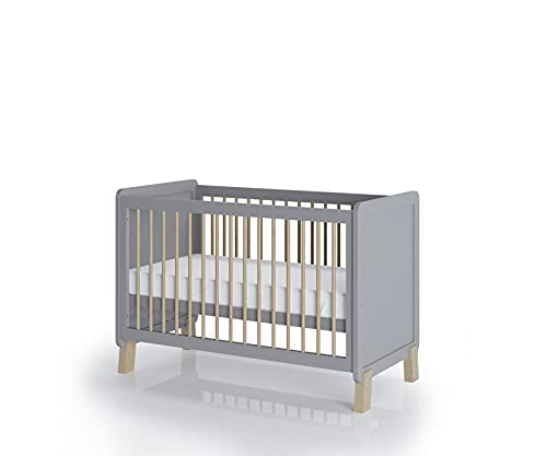 FabiMax Kinderbett Nachteule, 60 x 120 cm, weiß, mit Matratze Classic