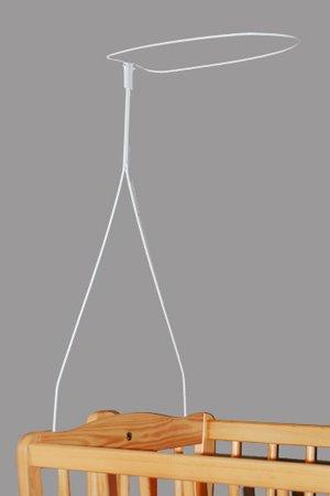 KOKO Himmelstange Himmelhalter Betthimmelstange Schleierhalter zum Hineinstecken