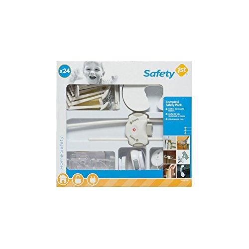 Safety 1st 39098760 - Komplettausstattung Haussicherheit Set, 24 Sicherheitsartikel