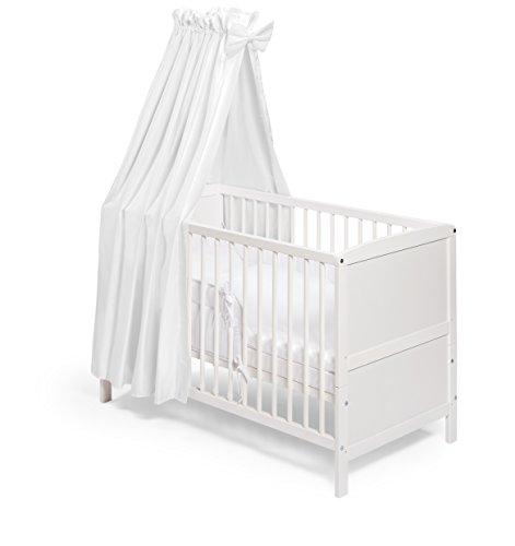 KOKO Babybett Kinderbett NELE Komplettausstattung 120x60 cm