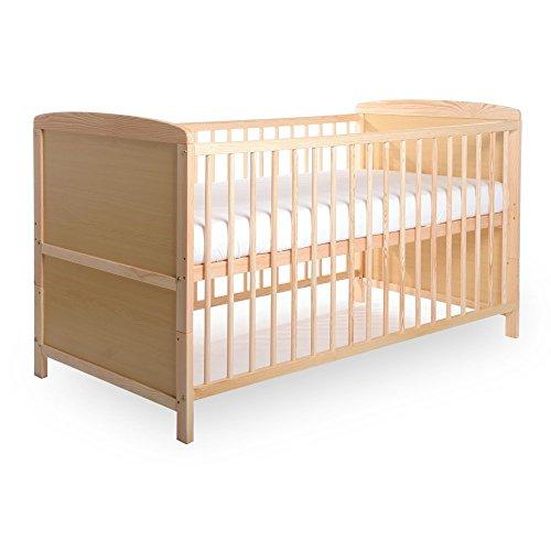 BABYBLUME Kinderbett Babybett Gitterbett 140x70 cm TINA Kiefer