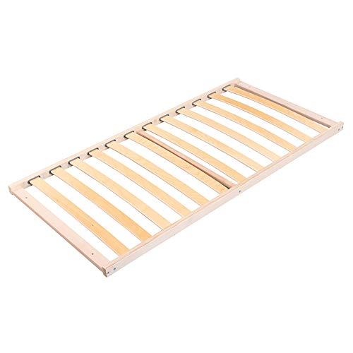 babybay Lattenrost passend für Kinderbett, Natur Unbehandelt, 70 x 140 cm